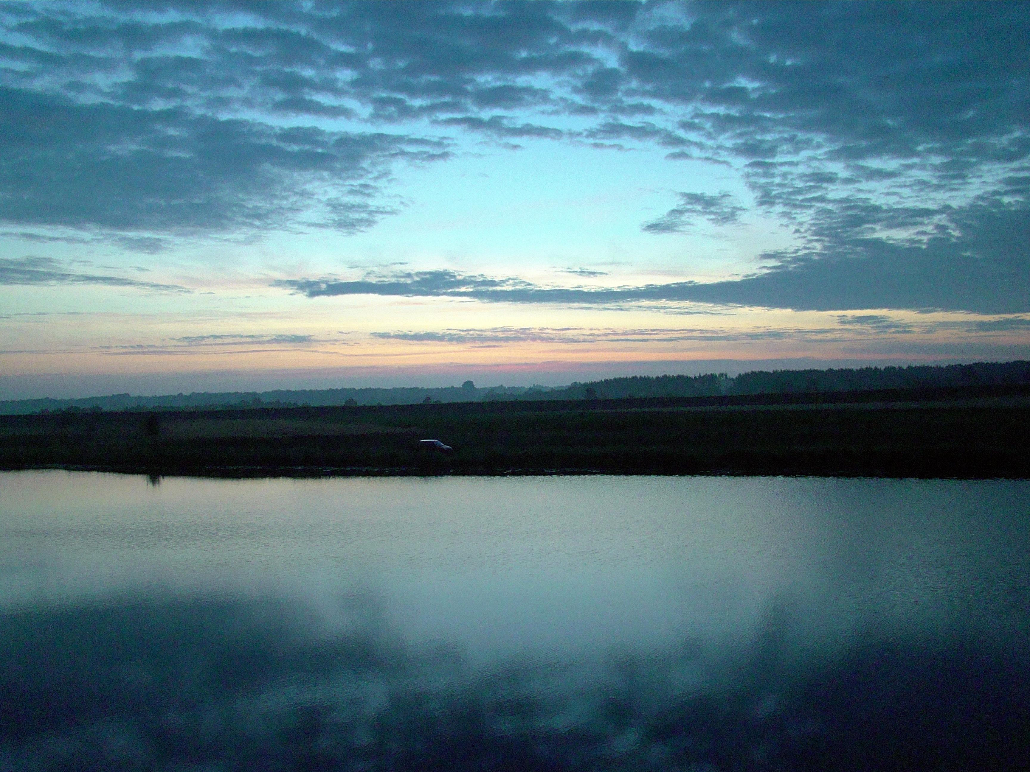 wschód słońca kiełpiniec