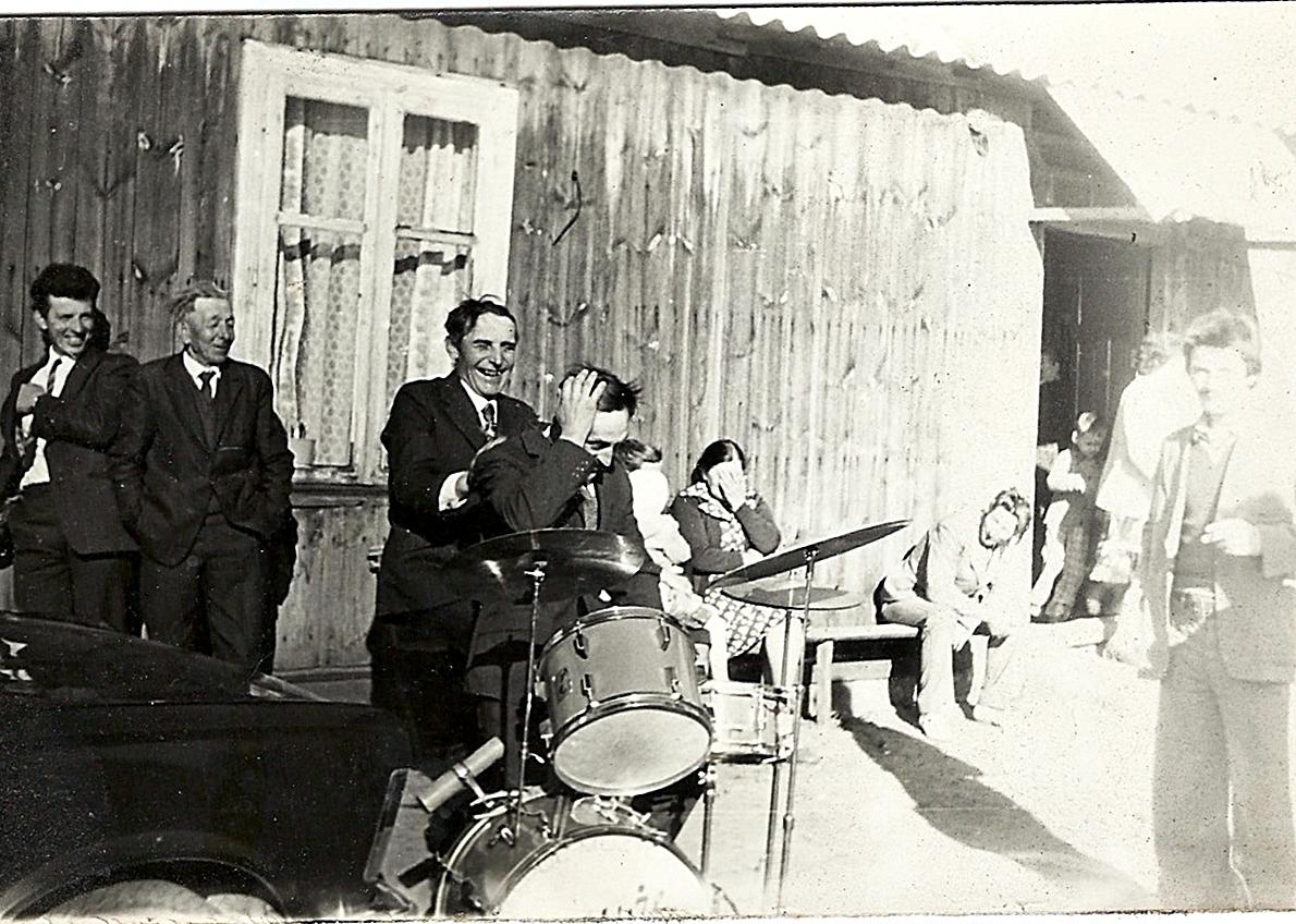 wesele na wsi Andrzeja i Małgorzaty Kulesza 1979