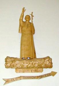 kaplica kiełpiniec papież Jan Paweł