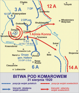 Bitwa pod Komarowem