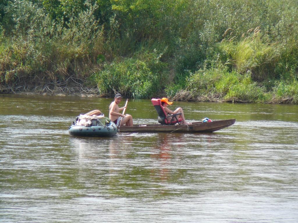 rzeka Bug spływ