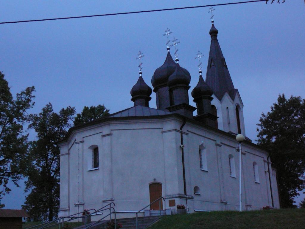 Cerkiew Narodzenia NMP Przeczystej z 1821-1823 r Mielnik