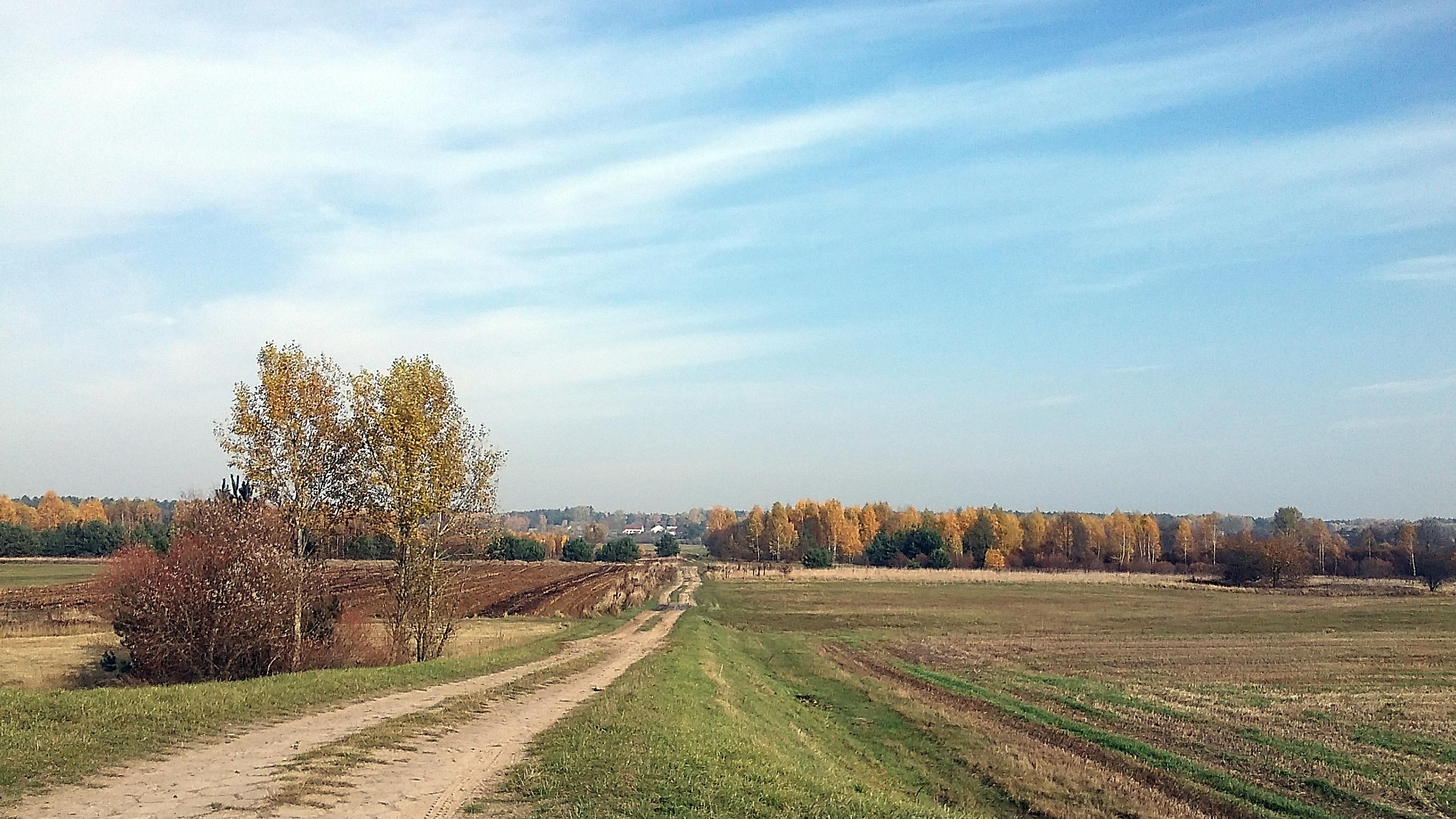 wieś kiełpiniec jesień 2015