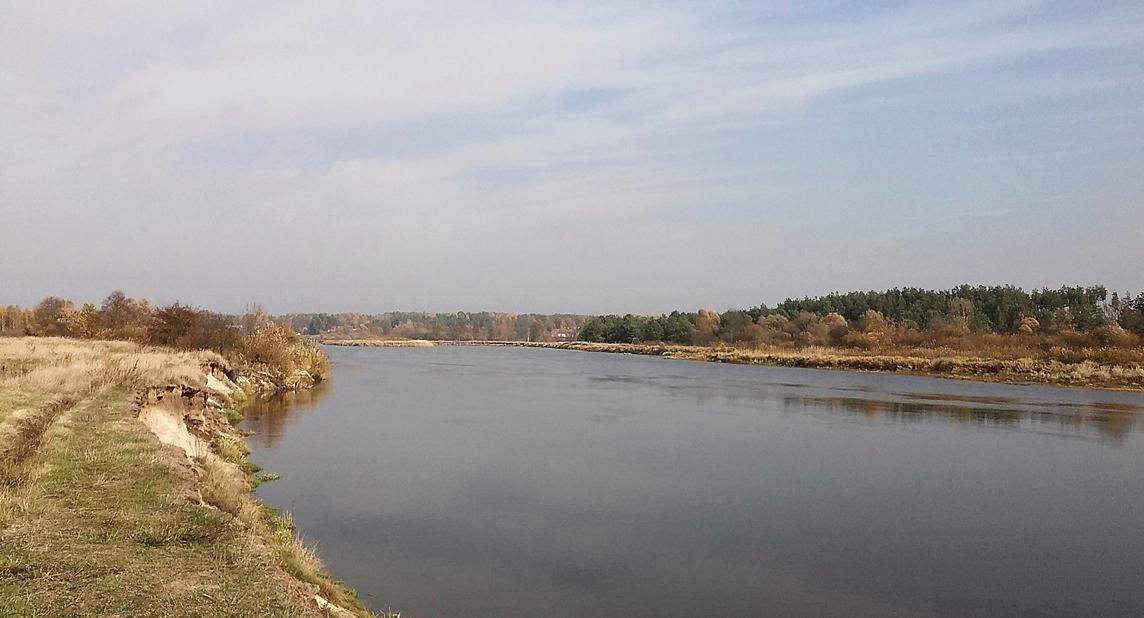 rzeka Bug kiełpiniec 2015