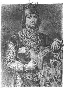 """""""Leszek Czarny"""" Jana Matejki."""