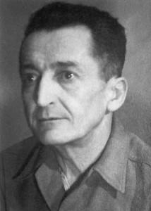 """Gen. Emil Fieldorf """"Nil"""", Łódź 1950. Ostatnie zdjęcie przed aresztowaniem."""