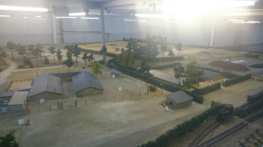 treblinka muzeum makieta