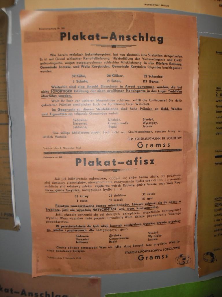 treblinka muzeum plakat