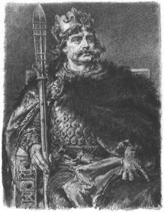 Bolesław Chrobry, portret autorstwa Jana Matejki.