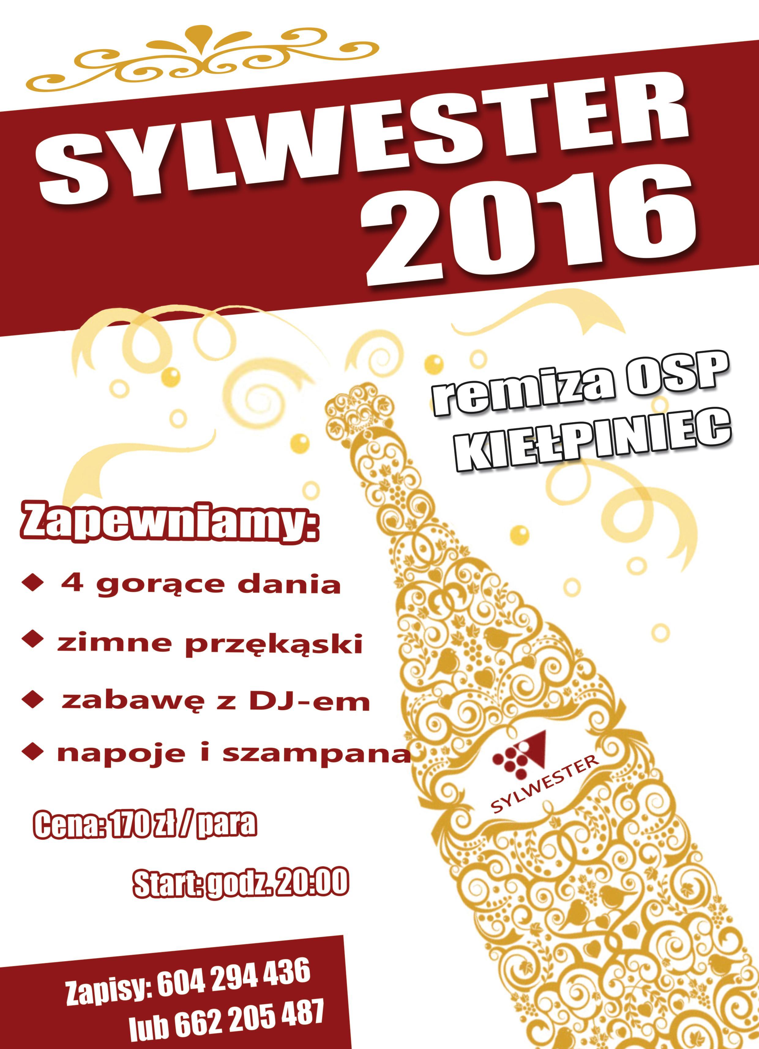 kiełpiniec sylwester 2016