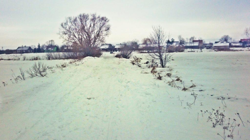 Nadbuzanski Park Krajobrazowy zima