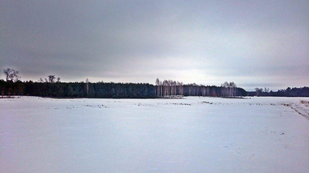 okolice wsi kiełpiniec