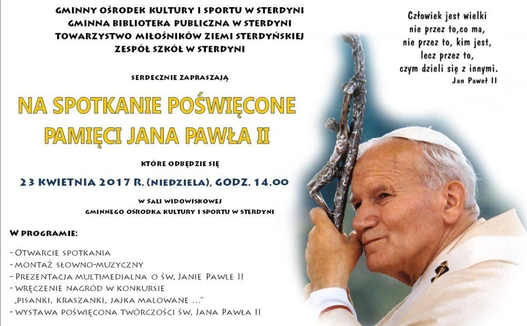 spotkanie w goku poswiecone pamieci papieza jana pawla ii