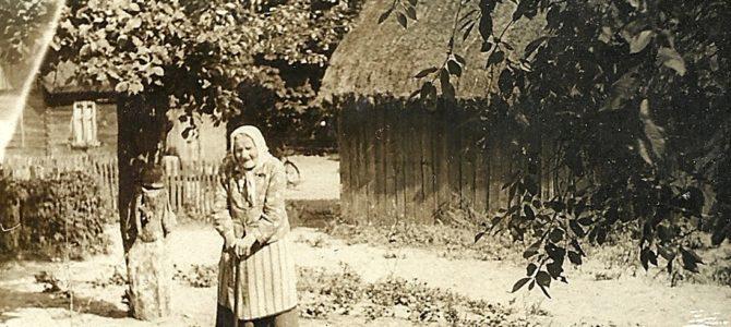 Stare zdjęcia z życia na wsi