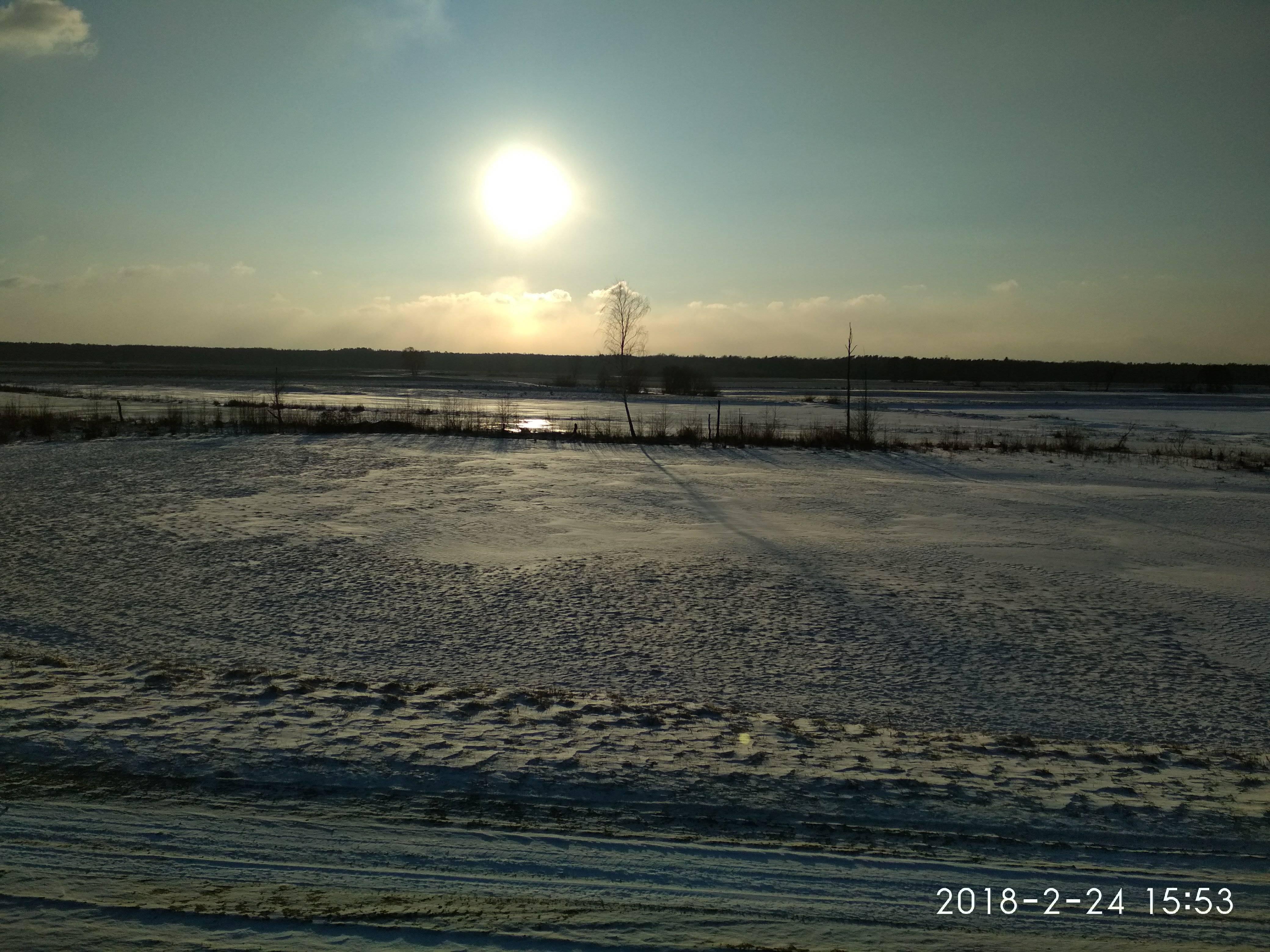 npk kiełpiniec zachód słońca
