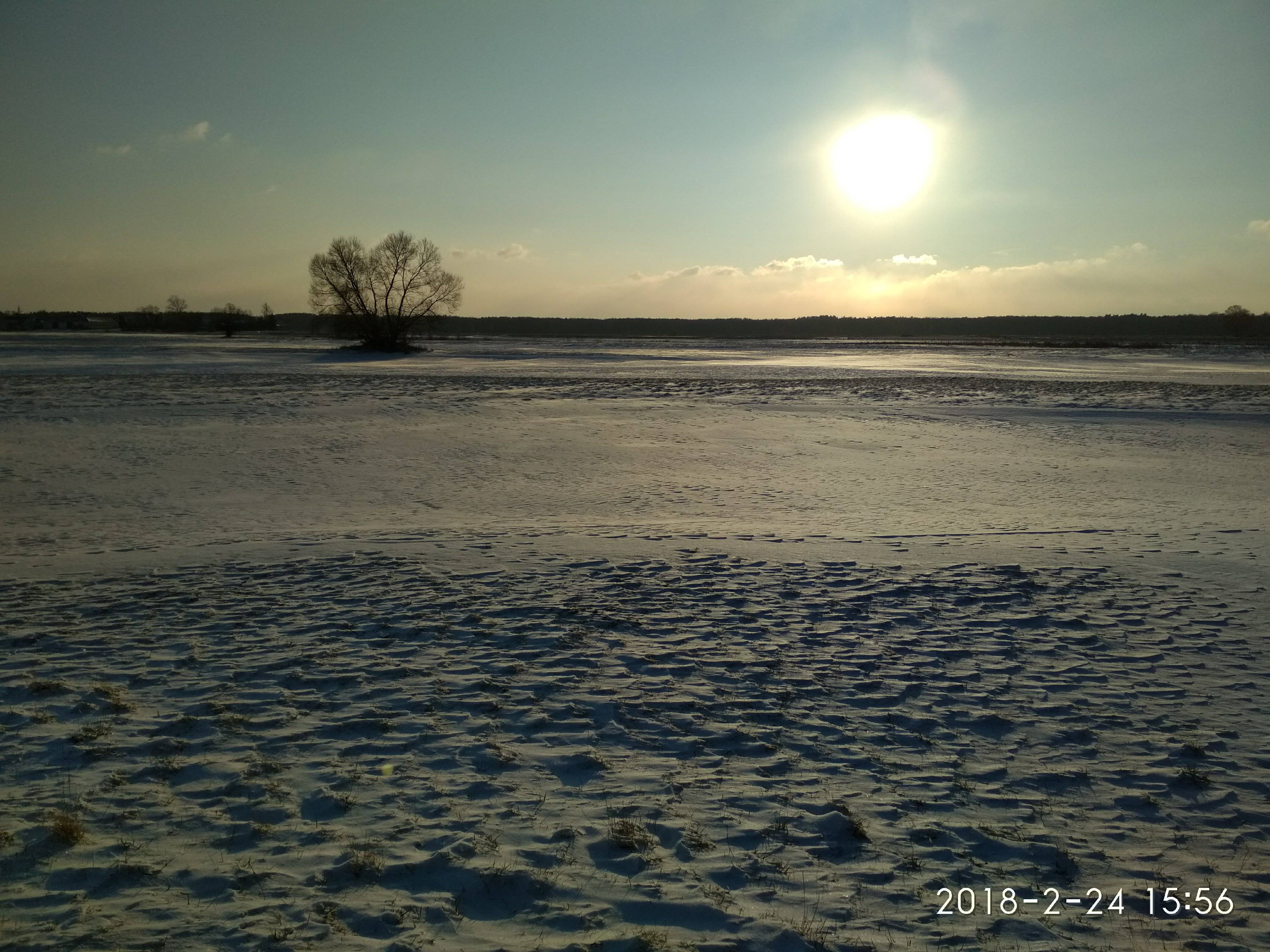 zachód słońca npk kiełpiniec