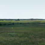 widok na jezioro w Ulaskach od strony Zagórza koło wsi Kiełpiniec