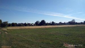 łąki we wsi kiełpiniec