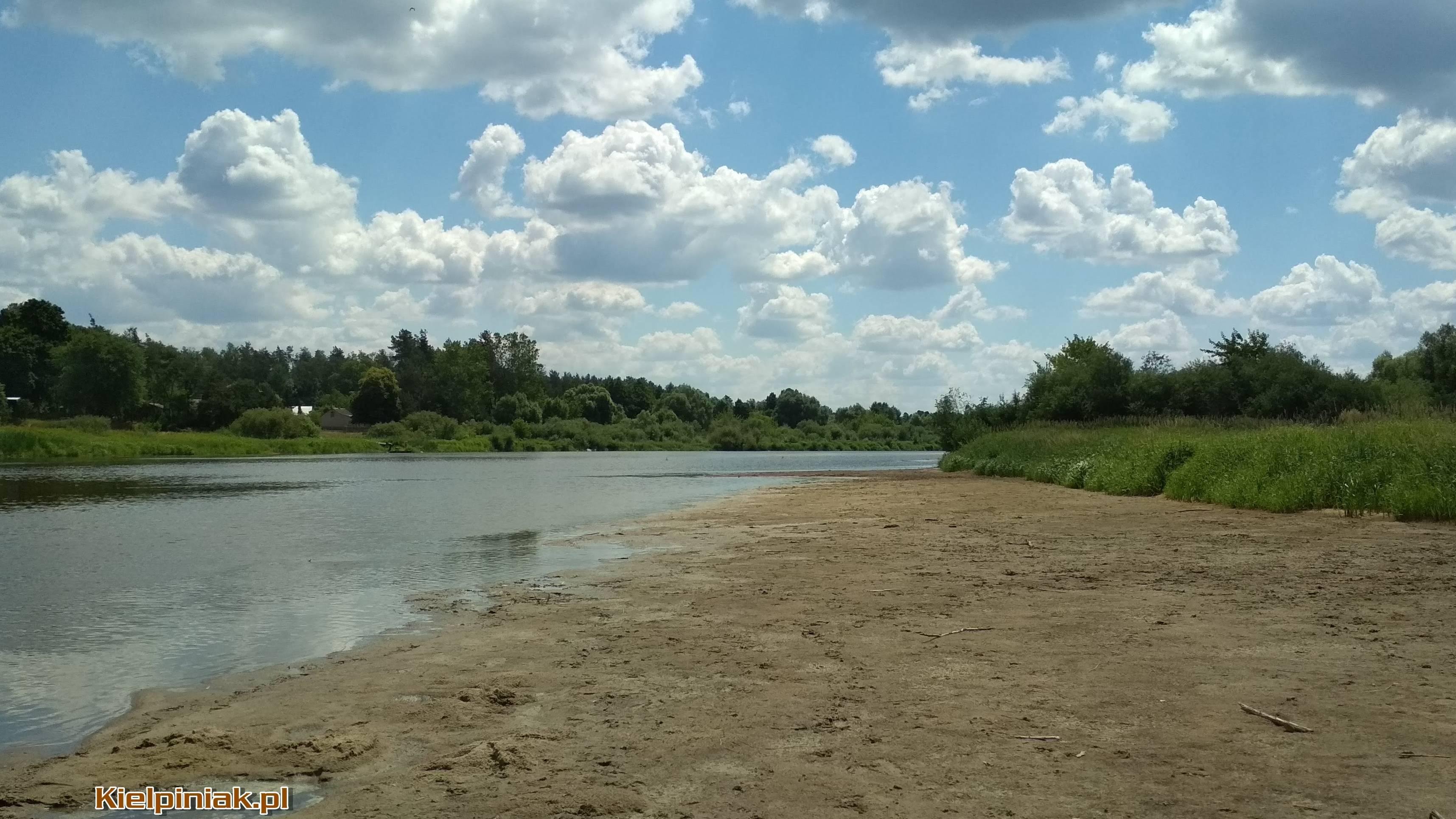 """Dawna """"plaża"""" na Zagórzu koło kiełpińca, czerwiec 2018 2"""