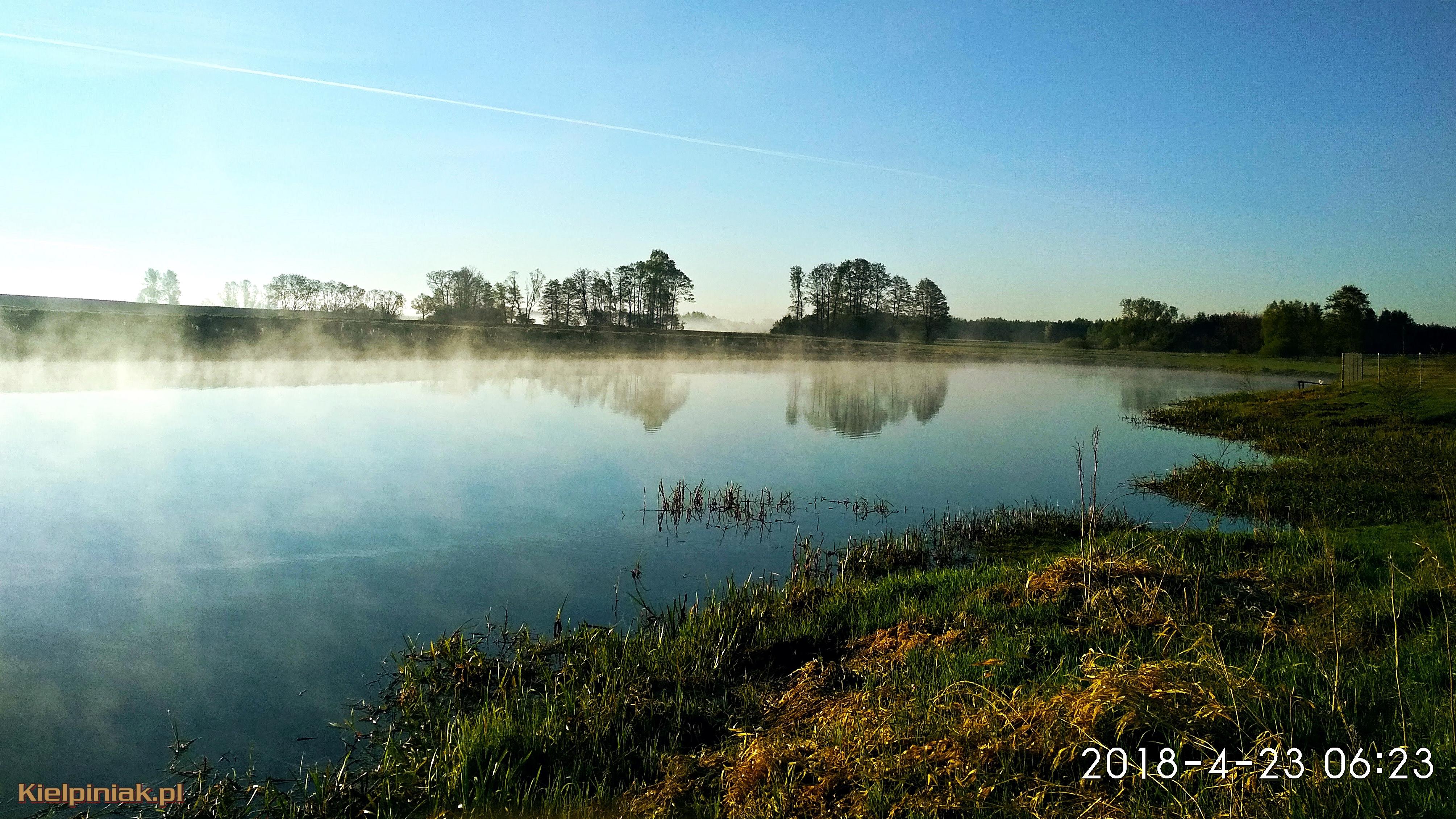 jezioro w kiełpińcu