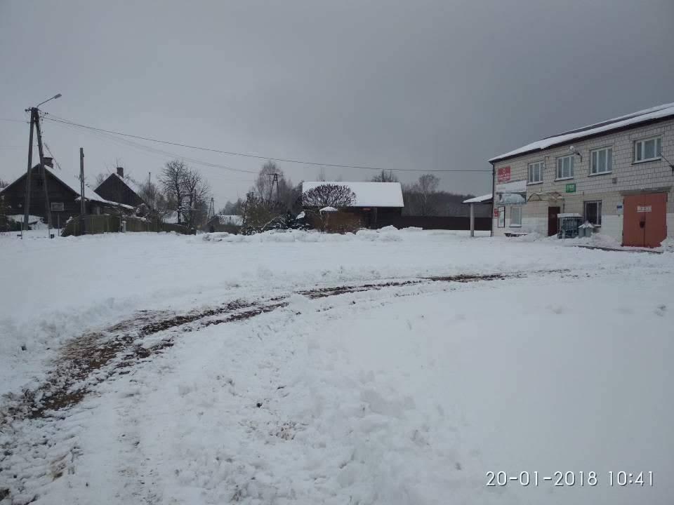 remiza w Kiełpińcu styczeń 2018