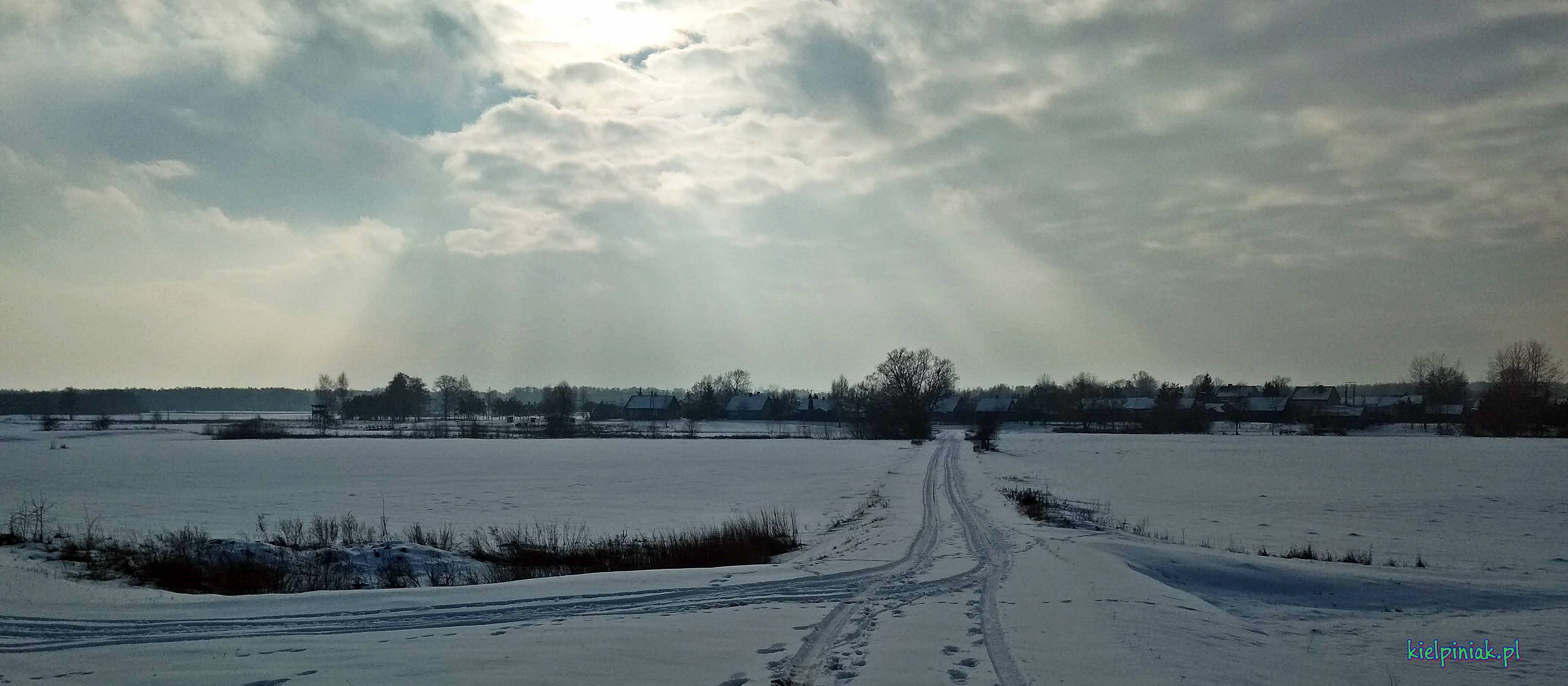 piękny widok, tapety NPK zimą 2019