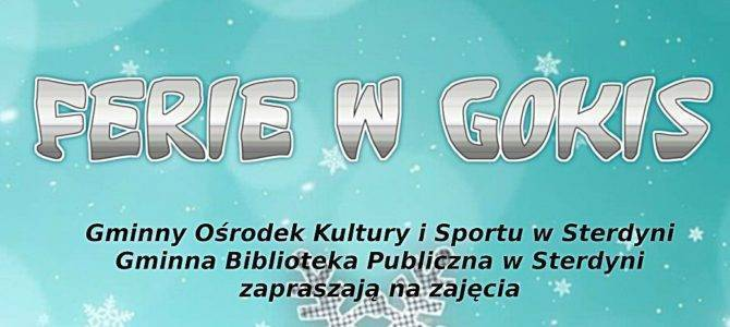 Ferie zimowe 2019 w gminie Sterdyń