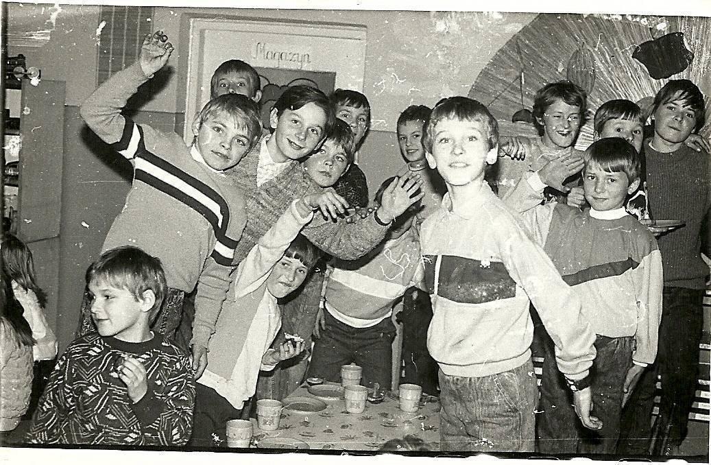 szkoła podstawowa w kiełpińcu, lata 90-te