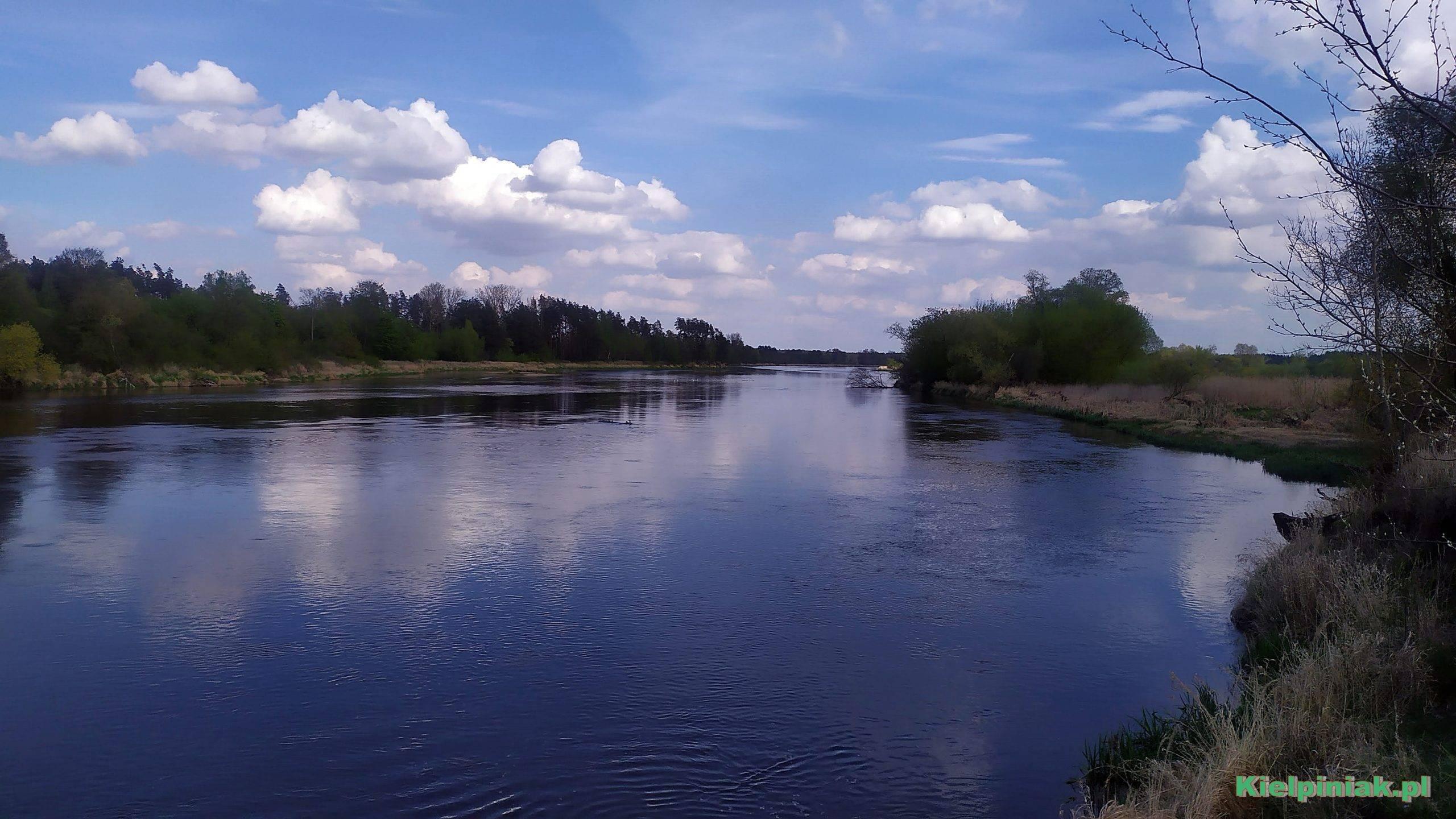 rzeka Bug maj 2020