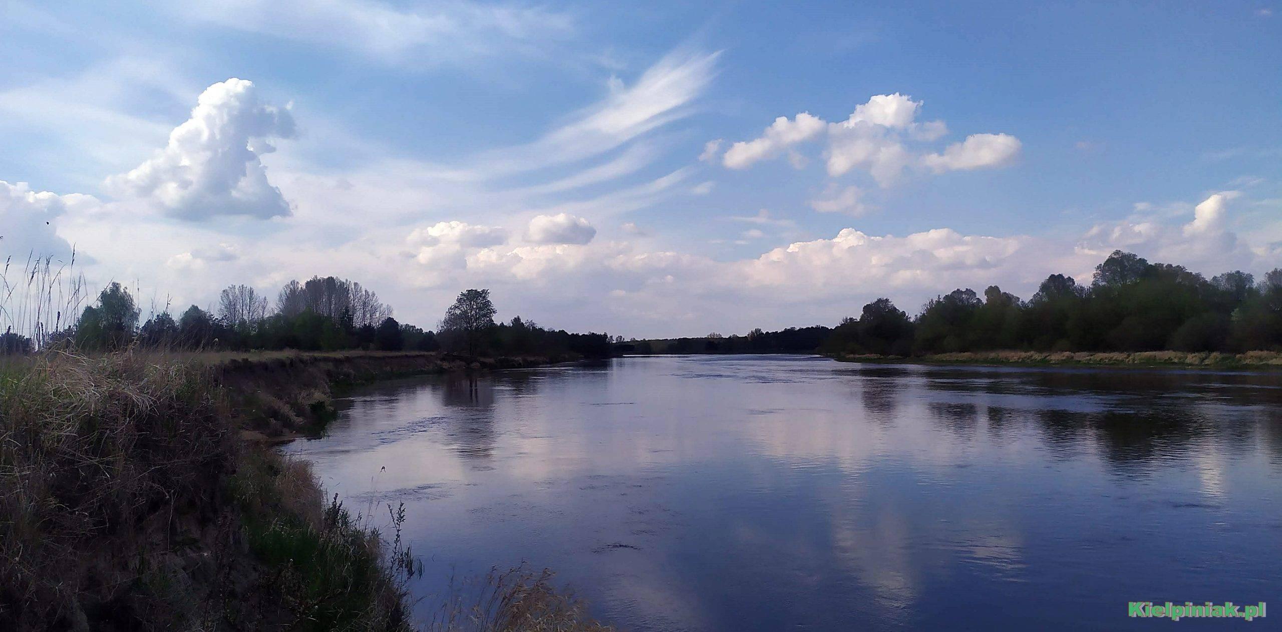 rzeka Bug w okolicy młynarzy maj 2020