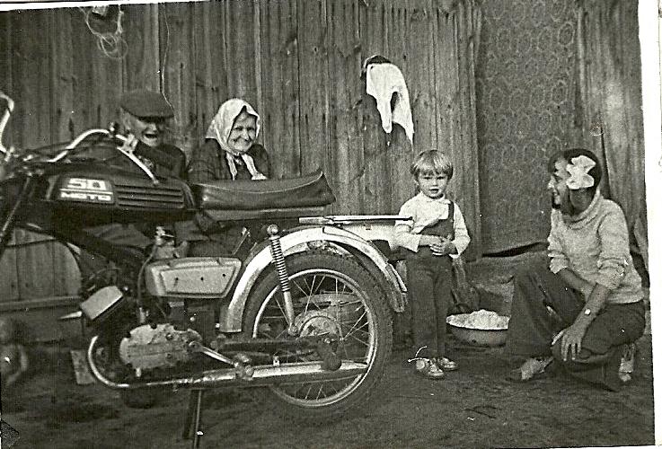 motorower w kielpincu
