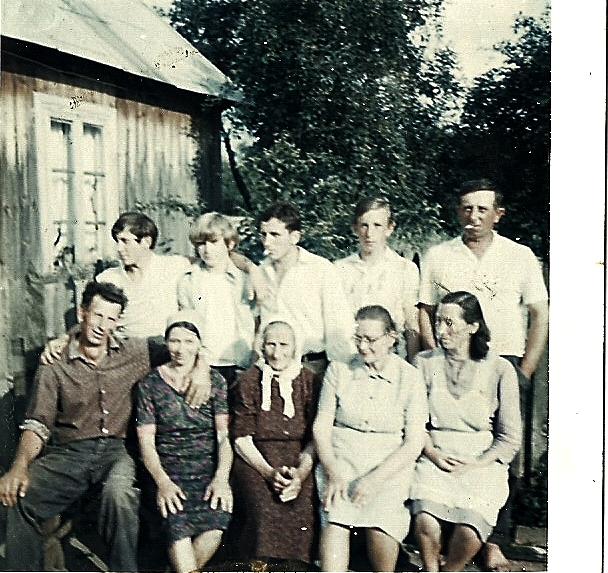 Rodzinne zdjęcie Kuleszów, Tymiśkich