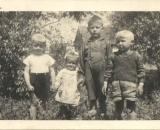 zdjęcie z okresu po 1 wojnie światowej na zdj m in. Adolf Góral