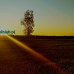 zachód słońca w kiełpińcu