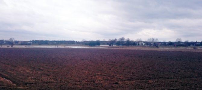 Aktualny stan wód w okolicy wsi Kiełpiniec