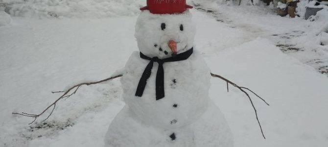 Zima 2018 w Kiełpińcu