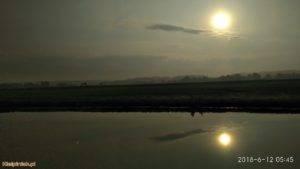 NPK, jezioro w Kiełpińcu, wschód słońca 2
