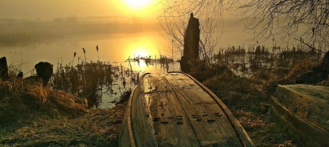 Marcowy wschód słońca